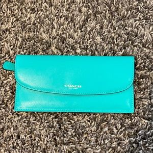 COACH travel wallet